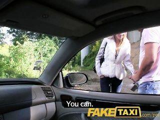 FakeTaxi परी मेरी टैक्सी पर मेरा बड़ा मुर्गा द्वारा बढ़ा है