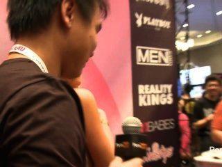 2014 AVN पुरस्कार में pornhubtv मिया Malkova साक्षात्कार