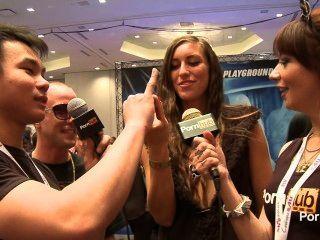 pornhubtv Rilynn रायबरेली और 2014 AVN पुरस्कार में Jessy जोन्स