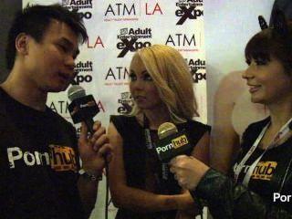 pornhubtv 2014 AVN पुरस्कार में अलिया प्रेम साक्षात्कार