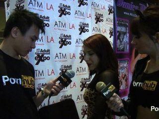 2014 AVN पुरस्कार में pornhubtv लिव एगुइलेरा साक्षात्कार