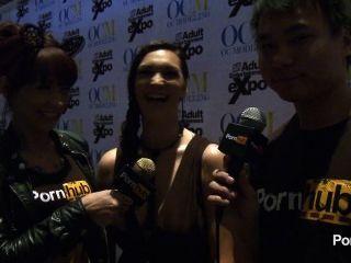 pornhubtv होली 2014 AVN पुरस्कार में साक्षात्कार माइकल्स