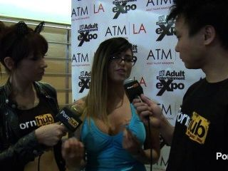 pornhubtv ईवा एंजेलीना 2014 AVN पुरस्कार में साक्षात्कार