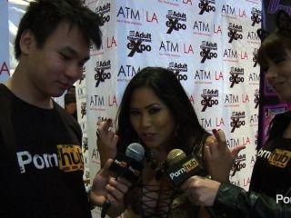 2014 AVN पुरस्कार में pornhubtv जेसिका बैंकॉक साक्षात्कार