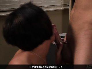 सुंदर milf बेब Dylan राइडर छात्र कक्षा के बाद उसकी बकवास देता है