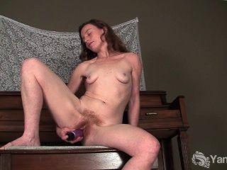 संभोग के लिए Lusty एना बकवास dildo