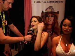 pornhubtv एलिसन मूर और निकी exxxotica 2014 में डेलानो साक्षात्कार