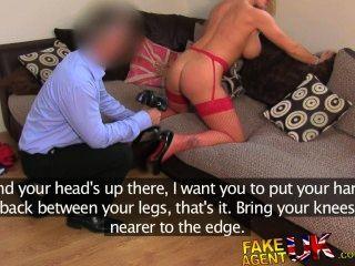 FakeAgentUK अविश्वसनीय सेक्सी गोरा milf सब बातों गुदा प्यार करता है