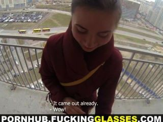कमबख्त चश्मा - गिलहरी भविष्यवाणी करता है गर्म गुदा सेक्स