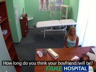 FakeHospital रोगी डॉक्टरों गर्भवती पाने के लिए कोशिश करता है शुक्राणु