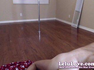 वेब कैमरा: थरथानेवाला हस्तमैथुन अलग करना poledancing