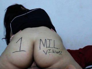 लैटिना स्कर्ट बकवास जन्म देती है और निगल: डेज़ी 1 लाख बार देखा गया विशेष dabs