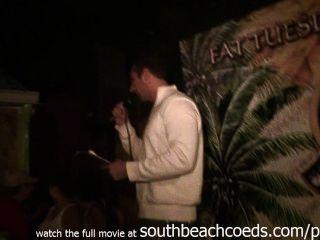 milfy गीले टी प्रतियोगिता Key West