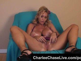 बिट चूची ताम्पा एमआईएलए Charlee चेस बैंगनी dildo बिल्ली खेलने