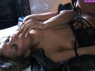 Keisha केन धूम्रपान सेक्स