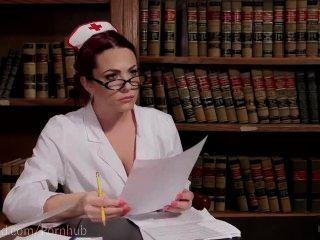सेक्स नर्स बिल्ली का प्रभुत्व हो जाता है
