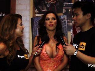2015 AVN पुरस्कार में pornhubtv निकी बेंज साक्षात्कार
