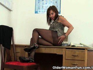 ब्रिटिश कार्यालय महिला कामोन्माद राहत की जरूरत