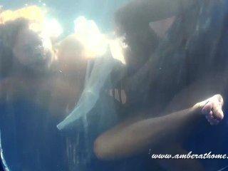 पानी के भीतर blowjob, सेक्स और सह