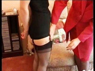 परिपक्व नौकरानी spanks