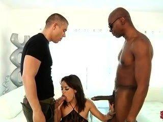 Franceska Jaimes उसे तंग छेद भरवां गया है