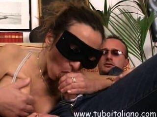 इतालवी शौकिया पत्नी त्रिगुट - bresciana