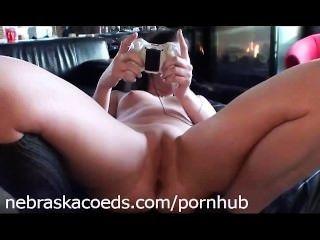 पूर्व प्रेमिका एक्सबॉक्स नग्न खेल रहे हैं और खुद के साथ खेल