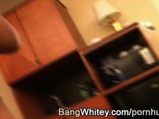 ब्राउन लड़की सफेद आदमी से चेहरे हो जाता है