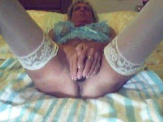 दादी और उसके काले dildo