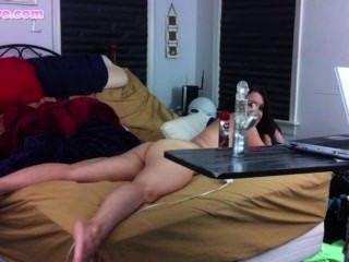 Lelu प्यार पर्दे के पीछे हस्तमैथुन एच.डी.
