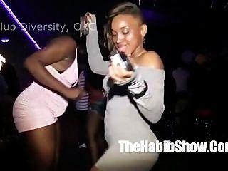 कमबख्त के आसपास क्लब विविधता OKC में कुछ काला hoes के साथ