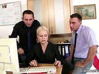 दो सह मालिकों धमाके हॉट परिपक्व महिला