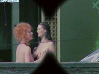 Edwige Fenech और lia Tanzi कन्या से नग्न, वृषभ ...