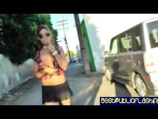 Brigette बी सार्वजनिक चमकती आकर्षक pt2