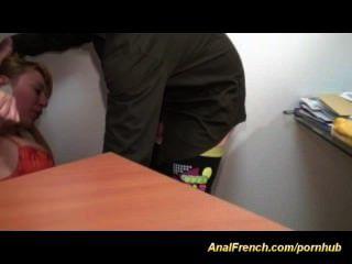 गुदा गड़बड़ कठिन फ्रेंच