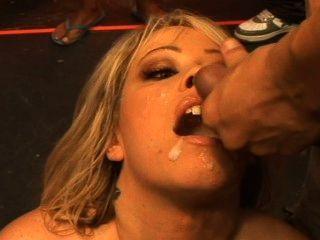 Sextreme, Bukkake निगलने # 34