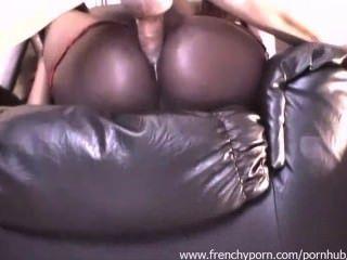 फ्रेंच आबनूस लड़की कुछ गुदा सेक्स
