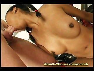 एशियाई गर्म Bunnie