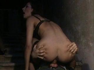 नथाली Boet बेकार है और fishnet मोज़ा में लंड की सवारी