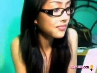 खूबसूरत महिला-वीडियो चैट भी आनंद मिलता है - सत्र 3003