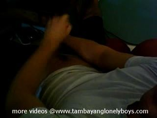 Pinoy समलैंगिक jerkoff युवा Pinoy गीला झटका बंद