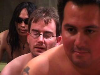 अमेरिकी Bukkake 22 - दृश्य 1
