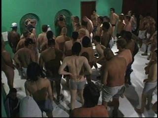 अमेरिकी Bukkake 17 - दृश्य 2