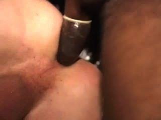 सफेद पिछवाड़े में काले लंड