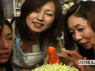 सबटाइटल जापान Milfs की और Cougars मौखिक भोजन की पार्टी सीबीटी