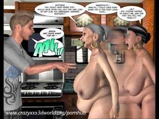 3 डी हास्य: अलौकिक घाटी।अध्याय 1