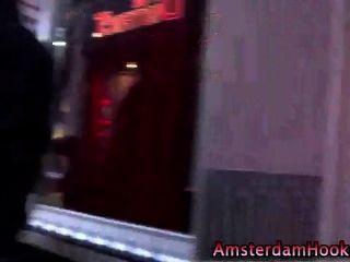 रियल डच वेश्या मौखिक