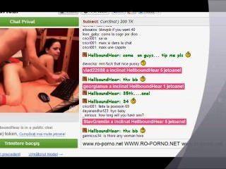 वीडियो चैट में एक जोड़े के साथ गुदा सेक्स