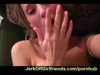 Carli बैंकों jerkoff करने के लिए आपको बताता है