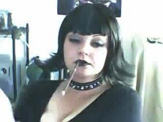 सुंदर जाहिल फूहड़ अधिक 120s धूम्रपान